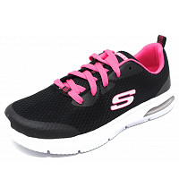 SKECHERS - DYNA-AIR - Sneaker - black/ hot pink