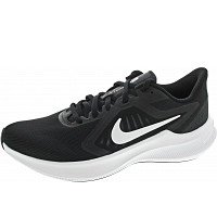 NIKE - Downshifter 10 - Sneaker - black-white-anthr.