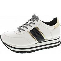 Tamaris - Sneaker - WHITE/BLACK