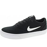 Nike - SB Charge Solarsoft Texti - Sneaker - black-white