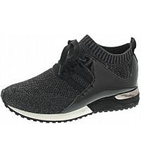 La Strada - Sneaker - black knitted