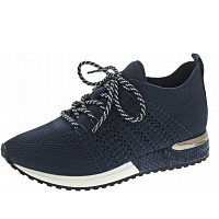 LA STRADA - Sneaker - blue knitted