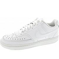 NIKE - Wmns Court Vision Low - Sneaker - white-white