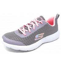 SKECHERS - DYNA-Lights - Sneaker - grey/ pink