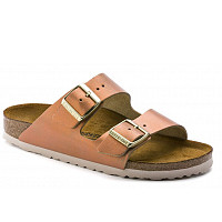 Birkenstock - washed metallic sea copper