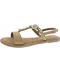TAMARIS - Sandale - lt gold met