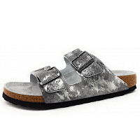 Birkenstock - Arizona - Pantolette - metallic grey
