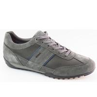 Geox - U Wells C - Sneaker - DK GREY