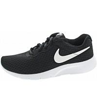 NIKE - Tanjun (GS) - Sneaker - black-white