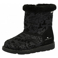 TOM TAILOR - Winterstiefel - black