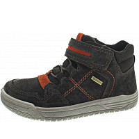 Superfit - EARTH - Klettstiefel - BRAUN/GELB