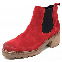 Marco Tozzi - Chelsea Boot - red combi
