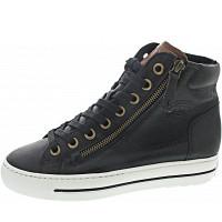 PAUL GREEN - Sneaker - black-cognac