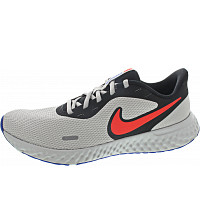 NIKE - Revolution 5 - Sneaker - blk-red-lt.smokegrey