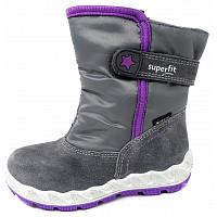 SUPERFIT - Stiefel - grau lila