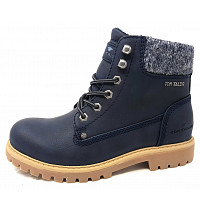 TOM TAILOR - Boots - navy
