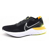 NIKE - Renew Run - Sportschuh - black/yellow