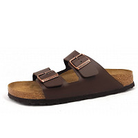 BIRKENSTOCK - Arizona - Pantolette - dark brown