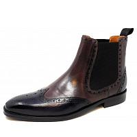 MELVIN & HAMILTON - Martin 5 - Chelsea Boot - fog-stone-black