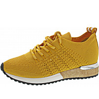 La Strada - Sneaker - knitted yellow
