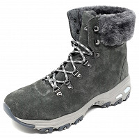 SKECHERS - Stiefel - charcoal