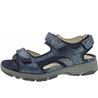 Waldläufer - Herki - Sandale - jeans blue