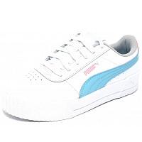 Puma - Carina JR - Sneaker - white/gulf