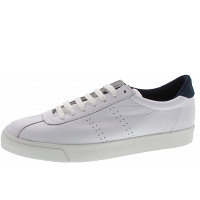 Superga - Sneaker - white-navy