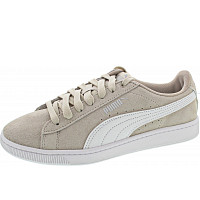 PUMA - Vikky v2 - Sneaker - silver gray-white-silver
