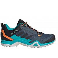 adidas - Trailschuhe - legacy blue/core black/signal orange