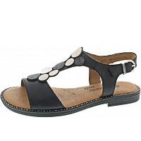 REMONTE - Sandalette - schwarz-graphit-muschel-i