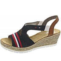 Rieker - Sandale - pazifik/cayenne