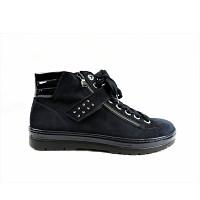 SEMLER - Samt-Chevro/La G+ - Sneaker high - midnightb.ocean