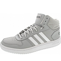 ADIDAS - Hoops 2.0 Mid - Sneaker - grefiv-dovgry-ftwwht