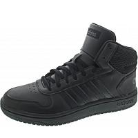 ADIDAS - Hoops 2.0 Mid - Sneaker - cblack