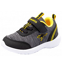 KANGAROOS - KY-Citylite EV - Sportschuh - black/yellow