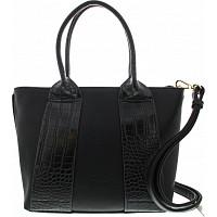 GABOR - Runa Shopper - Tasche - croco black
