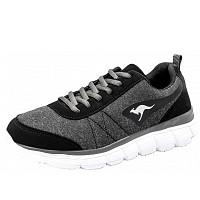 KANGAROOS - KR-Ref SMU - Sportschuh - jet black/steel grey
