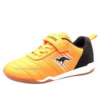 KANGAROOS - Super Court EV - Klettschuh - orange/black