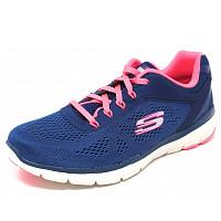 SKECHERS - Sneaker - navy pink