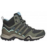 adidas - Trekkingschuhe - legend earth/legacy green/ash grey