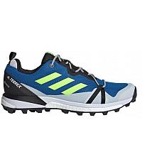 adidas - Trekkingschuhe - glory blue/signal green/dash grey