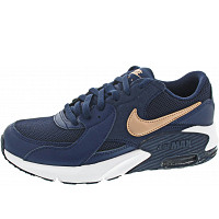 NIKE - Air Max Excee (GS) - Sneaker - navy-mtlc red bronze-whit