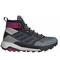 adidas - metal grey/core black/power berry