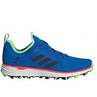 adidas - Trekkingschuhe - glory blue/core black/signal green