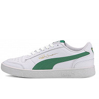 Puma - Sneakers - puma white / amazon green