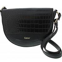 Gabor - Janne Flap bag - Tasche - croco black