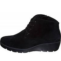 SEMLER - Samt-Chevro schwarz - Boots - schwarz