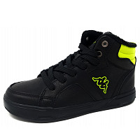 KAPPA - Graftou K - Sneaker high - black-lime