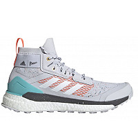 adidas - Trekkingschuhe - dash grey/ftwr white/true orange